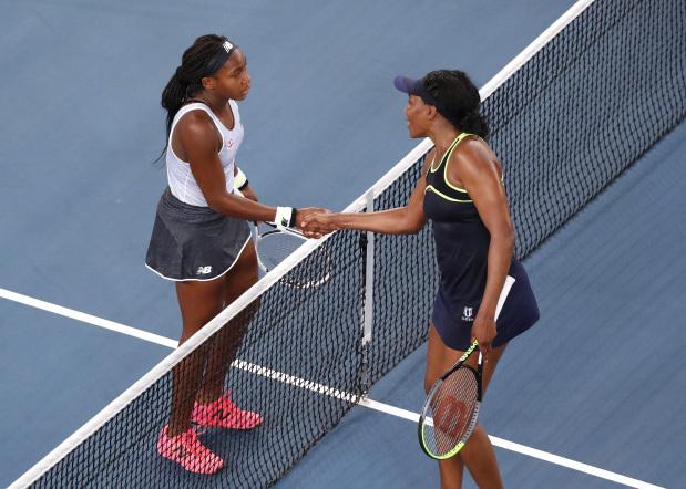 Australian Open: Gauff completes double eclipse of Venus