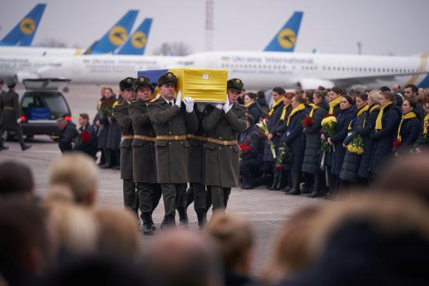Ukraine to press for plane crash black boxes as Iran minister visits