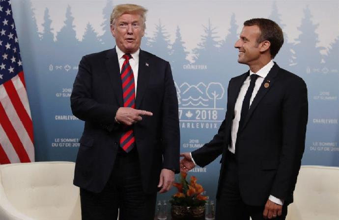 Macron and Trump declare truce in digital tax dispute
