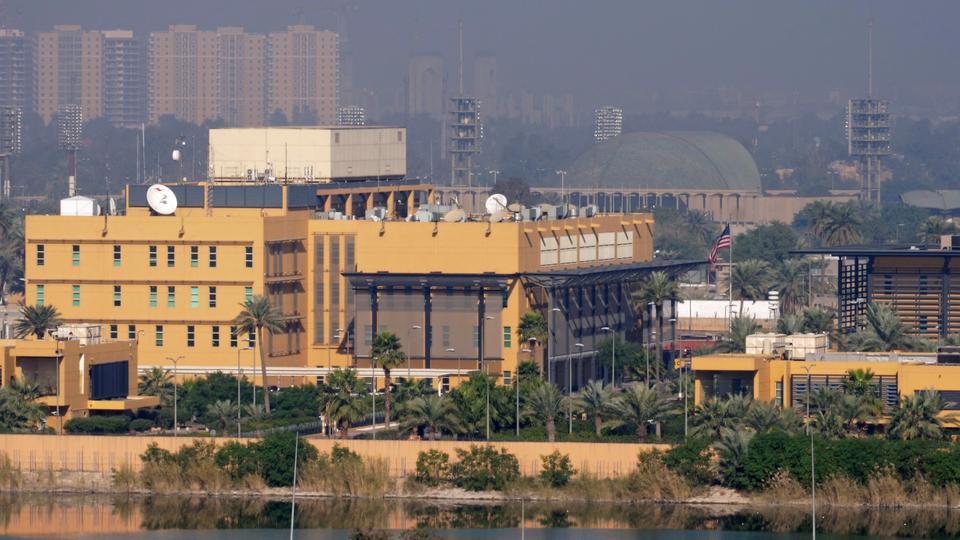 Three rockets fall inside Baghdad's Green Zone, no casualties