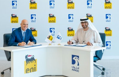 Adnoc signs carbon capture deal with Eni