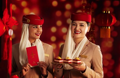 Emirates to offer special treats for Lunar New Year