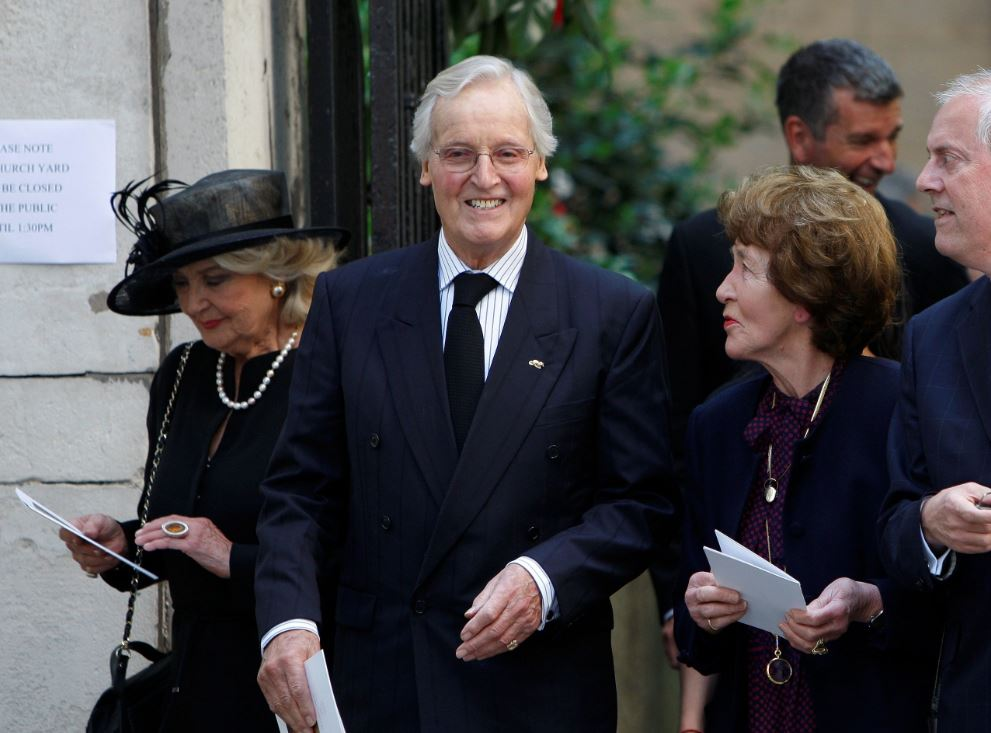 """UK broadcaster Nicholas Parsons, host of """"Just a Minute,"""" dies aged 96"""