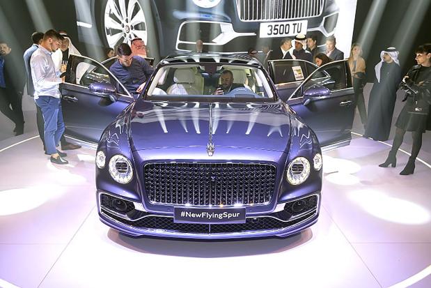 Bentley Motors unveils all-new luxury sedan