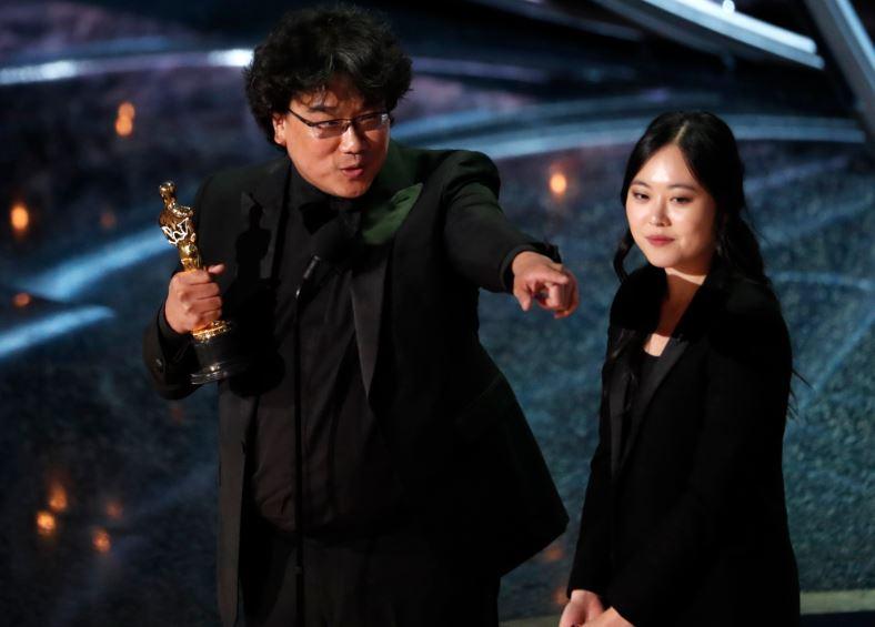 South Korea's 'Parasite' wins Oscar for best international feature film