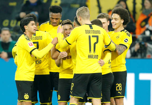 Haaland scores again as Dortmund beats Frankfurt to go second