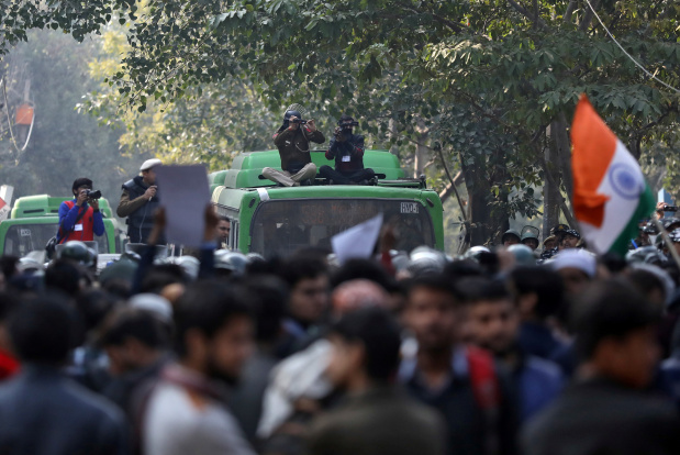 India's use of facial recognition tech during protests causes stir