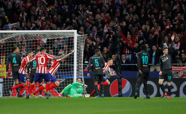 Atletico hold off Liverpool