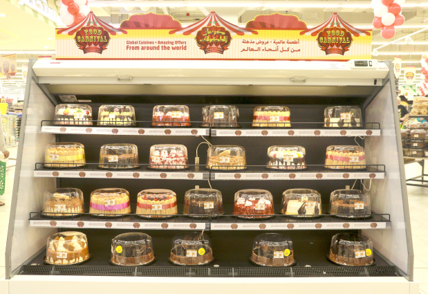 Amazing array of global cuisine to delight shoppers