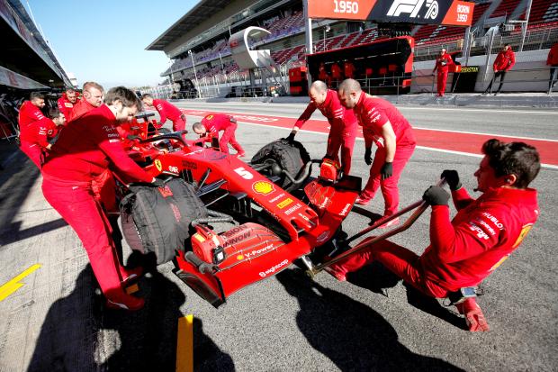 Raikkonen fastest in testing