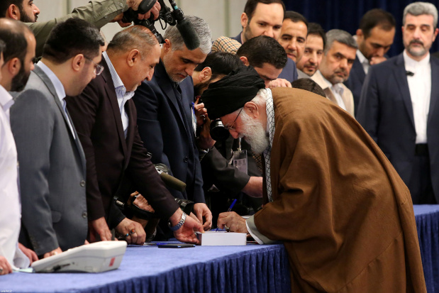 Iranians vote in parliamentary poll