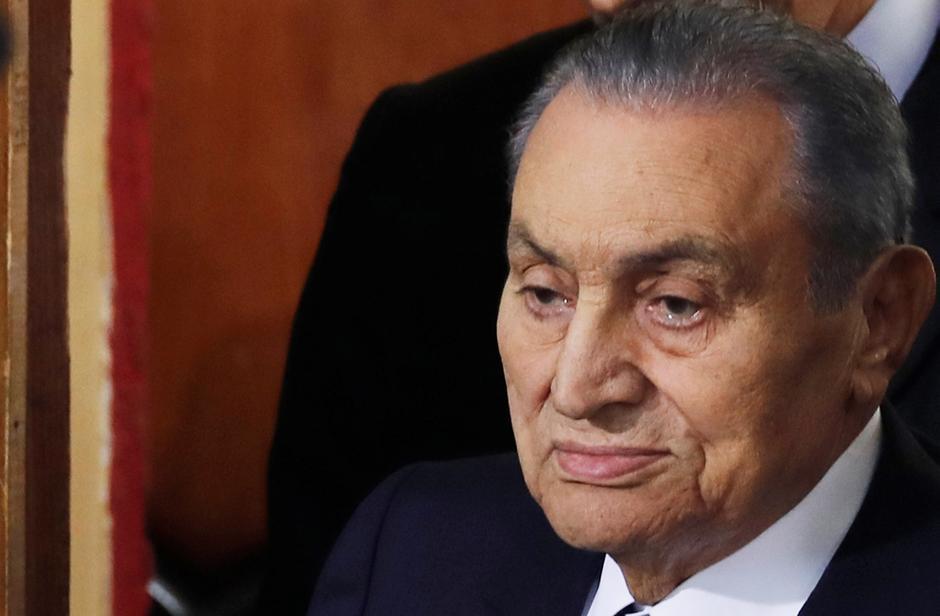 Hosni Mubarak mourned