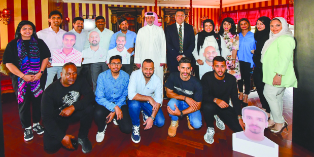 Bahrain International Circuit (BIC) chief executive Shaikh Salman bin Isa Al Khalifa treated the BIC staff members who competed in the 24-hour final round of the 2019-2020 Bahrain Karting Enduro Championship (BKEC) to a hearty breakfast. BIC COO Fayez Ramzy Fayez was also on hand, along with a majority of the group that competed in the race, which was held recently at Bahrain International Karting Circuit (BIKC) in Sakhir. The BIC team included Jassim Marhoon, Mohamed Juma, Sara Kanian, Salman Kanian, Mohamed Isa, Ali AbduAlnabi, Khalid Al Hubaishi and Ahmed Falmarzi. They completed 1,067 laps in the race. The BIC Corporate squad featured Royden Giles, Faten Amin, Nigel Dias, Riyanna D'Souza, Amal Moosa, Sunil Chadhuray, Phani Shanker, Mecwyan Castelino and Donald Castelino. They finished the event with a total of 1,009 laps