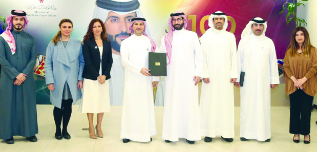 Bahrain-based Standard Chartered Bank (SCB) has joined the list of sponsors supporting Shaikh Nasser bin Hamad Al Khalifa's initiative to build dozens of football  stadiums around the kingdom. Youth and Sports Affairs Minister Ayman bin Tawfiq Almoayyed signed an agreement in this regard with SCB chief executive officer Abdulla Abdulrazaq Bukhowa. The minister stressed the importance of the initiative which aims to revive playgrounds in old neighbourhoods across Bahrain. Bukhowa expressed his bank's pride in sponsoring the scheme and supporting the sports and youth sectors in Bahrain