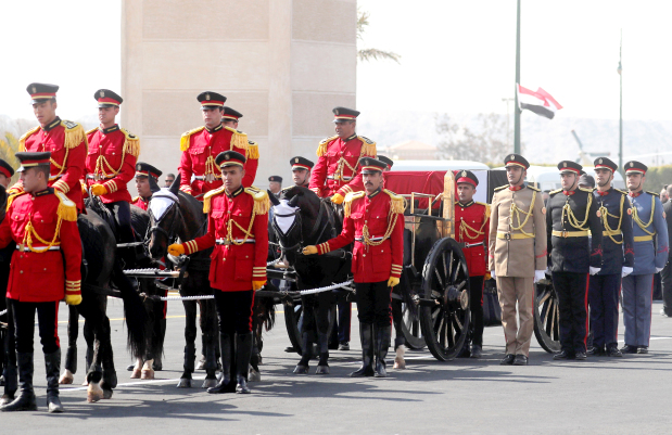 State funeral for Egypt's Mubarak