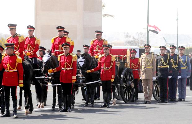 State funeral for Egypt's Mubarak