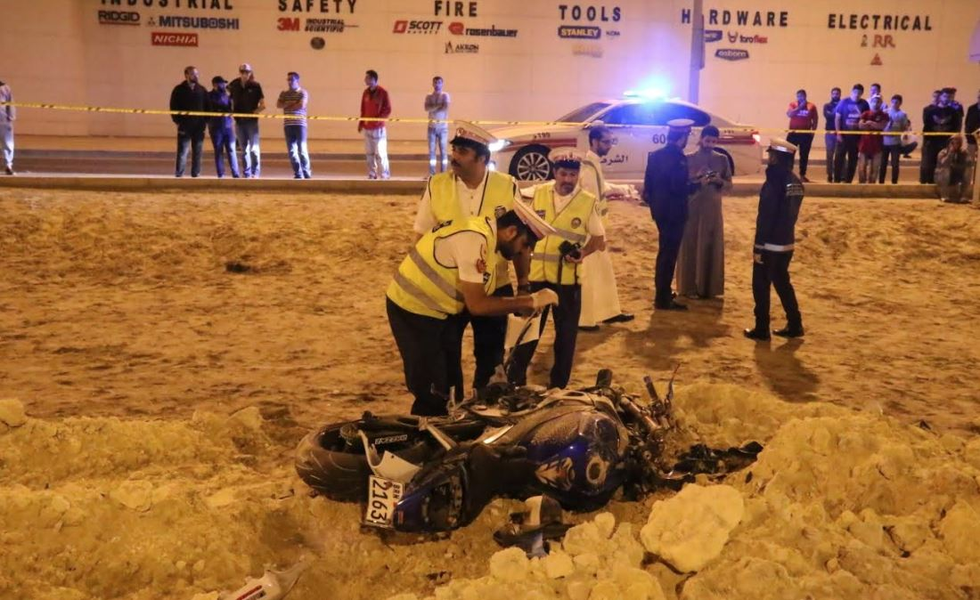 23-year-old Bahraini dies in crash