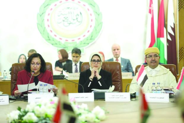 Crunch talks on Arab plan to combat virus