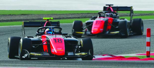 Piquet and DeFrancesco fastest