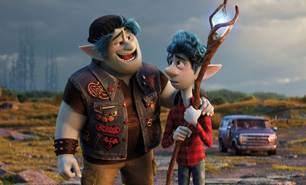 Father-son story gets magical twist in animated 'Onward'