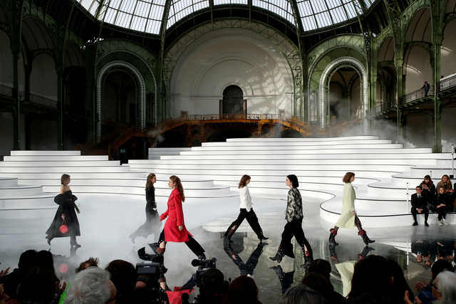 Chanel swaps skirts for jodhpurs at Paris Fashion Week
