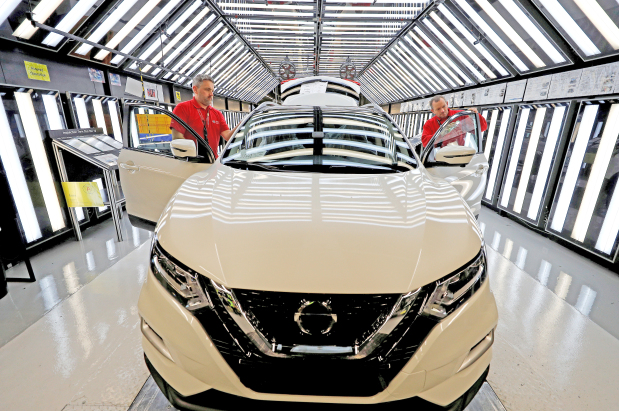Nissan pushes on with new vehicle plan at UK factory