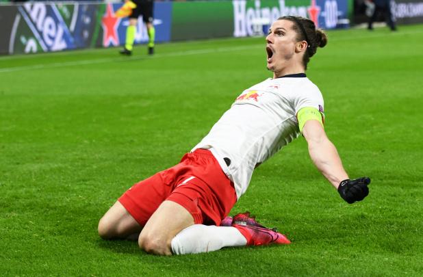 Football Uefa Champions League Rb Leipzig Ease Past Tottenham Hotspur Into Last Eight