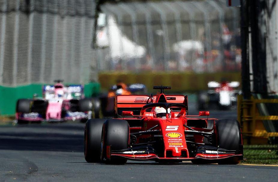 Australian GP 'called off' after coronavirus tests