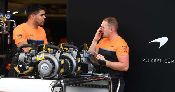 Haas and McLaren team members quarantined