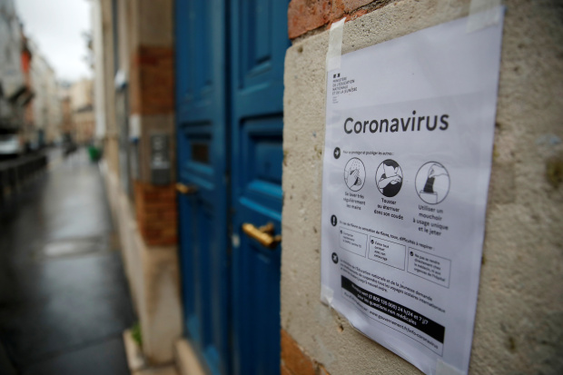France to Shut Down Schools as Coronavirus Grips the Country