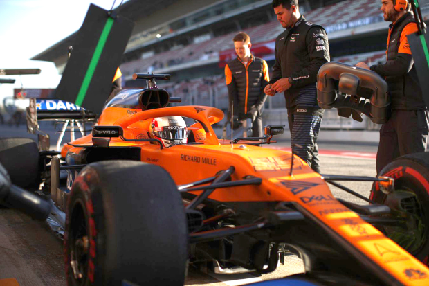 McLaren on the road to recovery