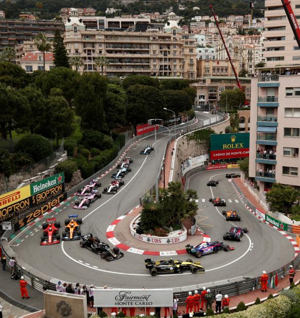 Monaco cancels Formula One GP