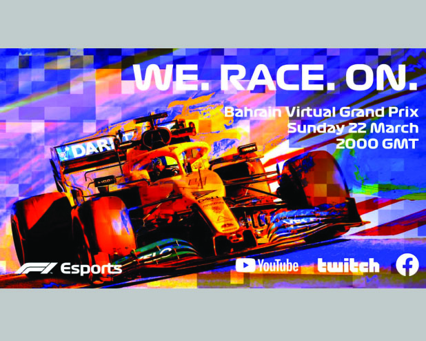 F1 launches virtual series starting with Bahrain GP