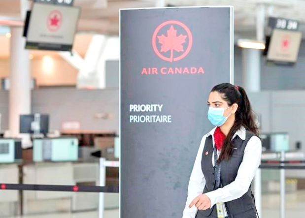 Air Canada may lay off 5,000 flight attendants