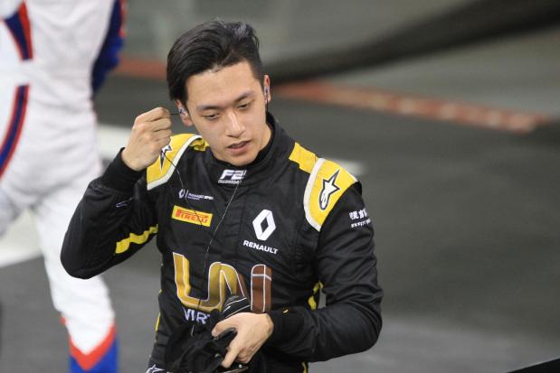 Zhou wins virtual Bahrain GP