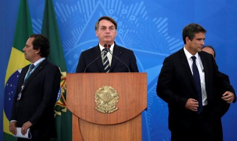 Brazil's Bolsonaro questions coronavirus deaths, says 'sorry, some will die'