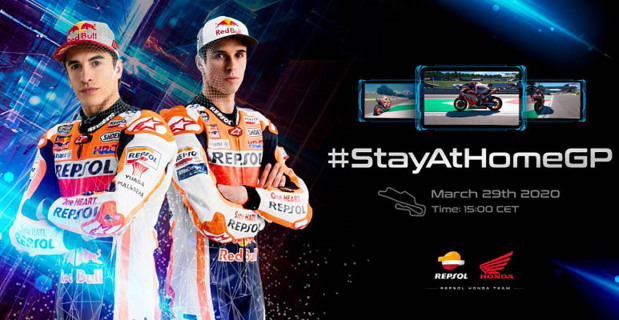 Marquez chasing a virtual victory