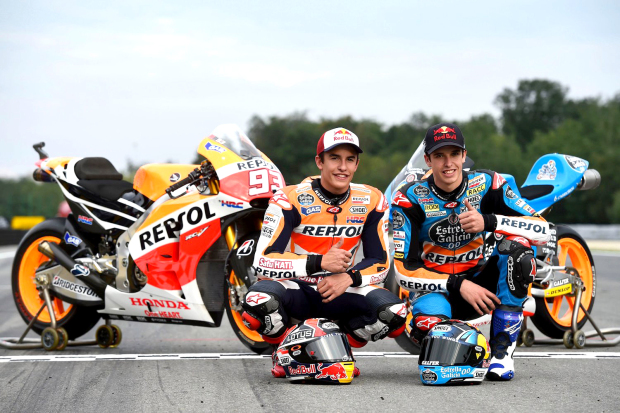Marquez clinches first 'MotoGP' win