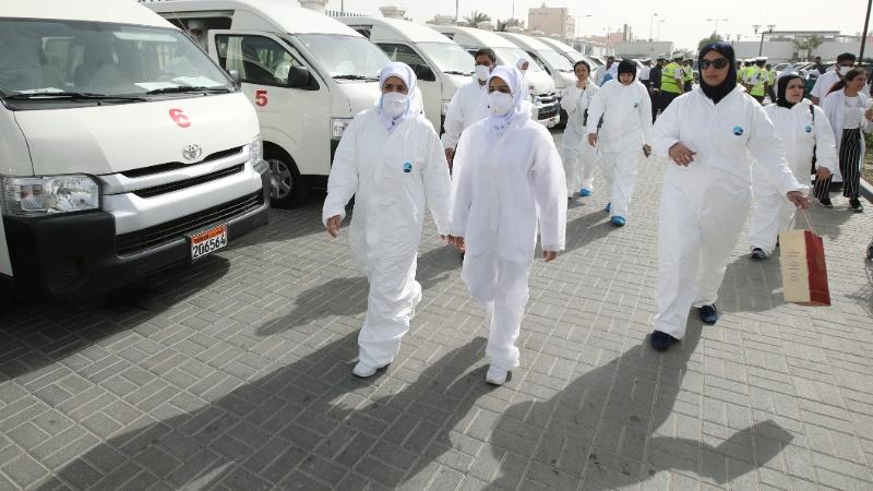 Bahrain's virus battle praised