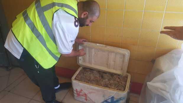 150kg shrimp seized