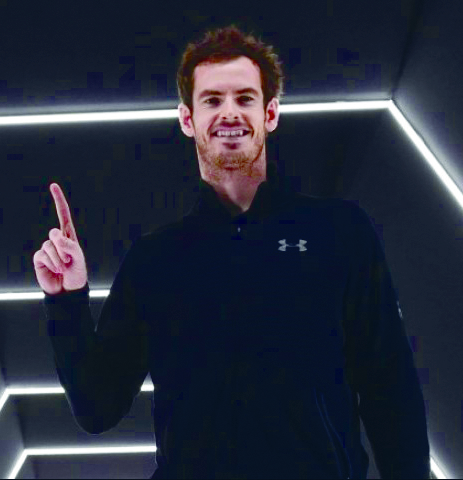 Andy Murray donates half of Madrid prize money to NHS