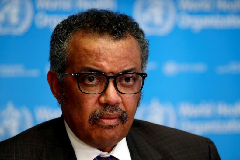 World Health Organization  chief says agency has $1.3 billion funding gap for coronavirus response