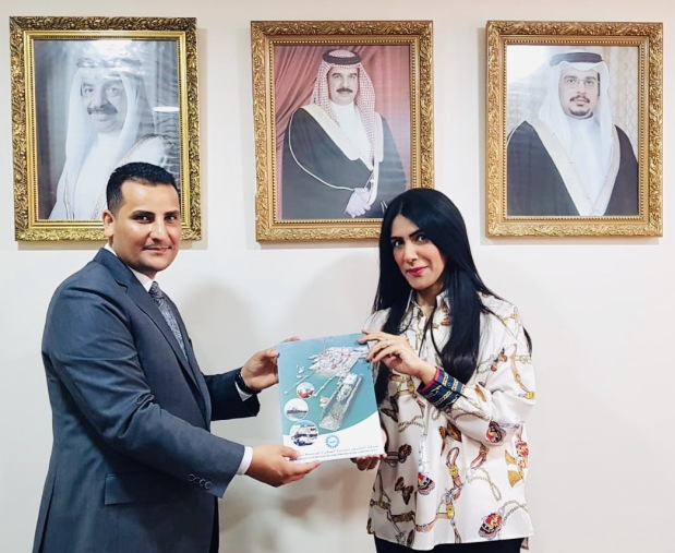 <p>A financial donation was made by Bahrain Ship Repairing and Engineering Company (Basrec) to the Bahrain Philanthropic Society in support of its projects to help the elderly, handicapped, orphans and widows, as well as contribute to the development of the health and educational sectors in Bahraini society. Above, Basrec human resources and administration manager Narjis Almoosawi handing over the donation to society public relations and information officer Abdul Rahman Salman</p>