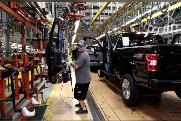 Ford's Chicago plant operating after brief shutdowns Tuesday linked to COVID-19 infections