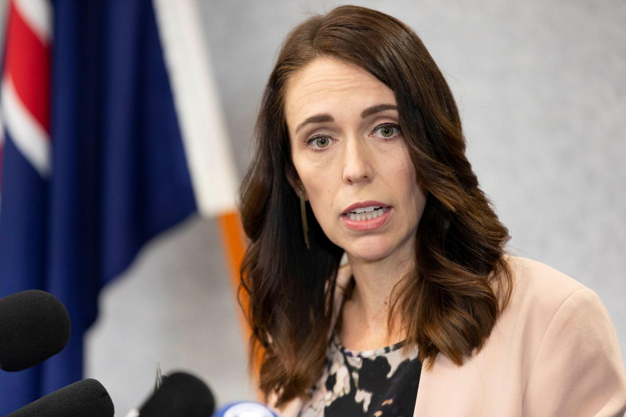 New Zealand PM Ardern stays cool as earthquake strikes during live interview