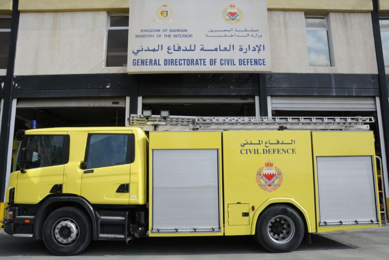 Six rescued from house fire in Buhair