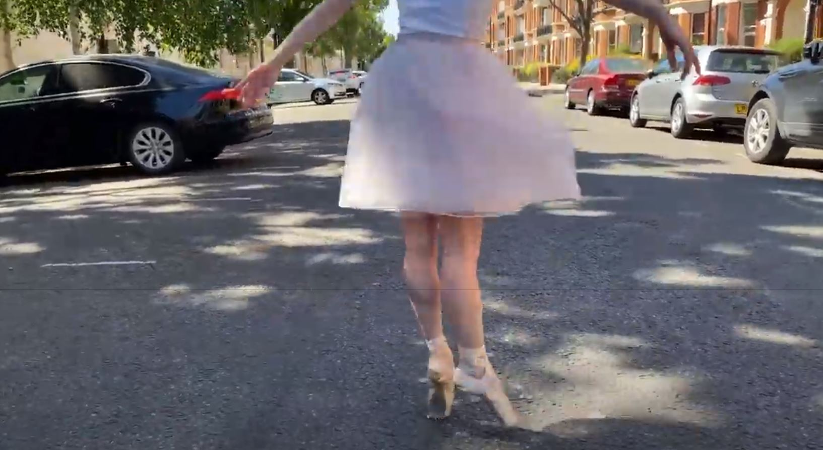 Pirouette like Jagger: Royal Ballet dances to Stones in London streets