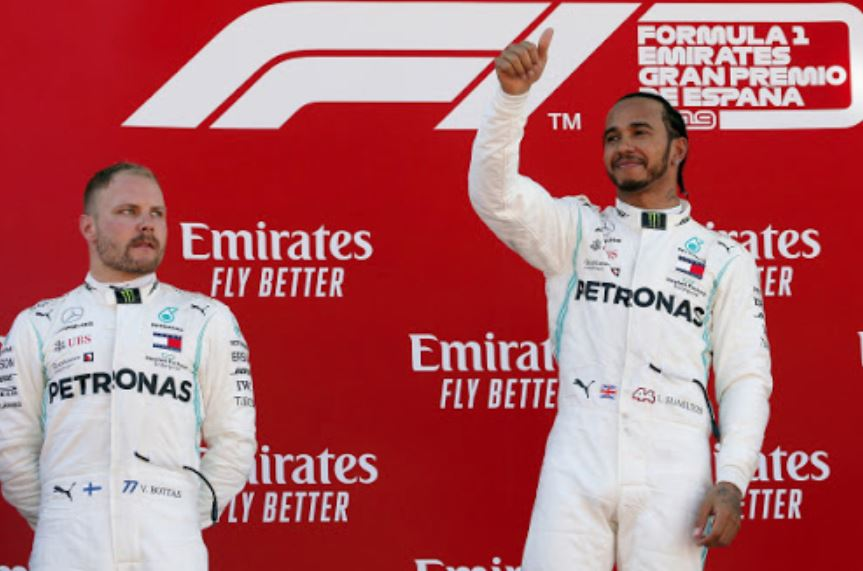 Pandemic means no podium ceremonies for Formula One