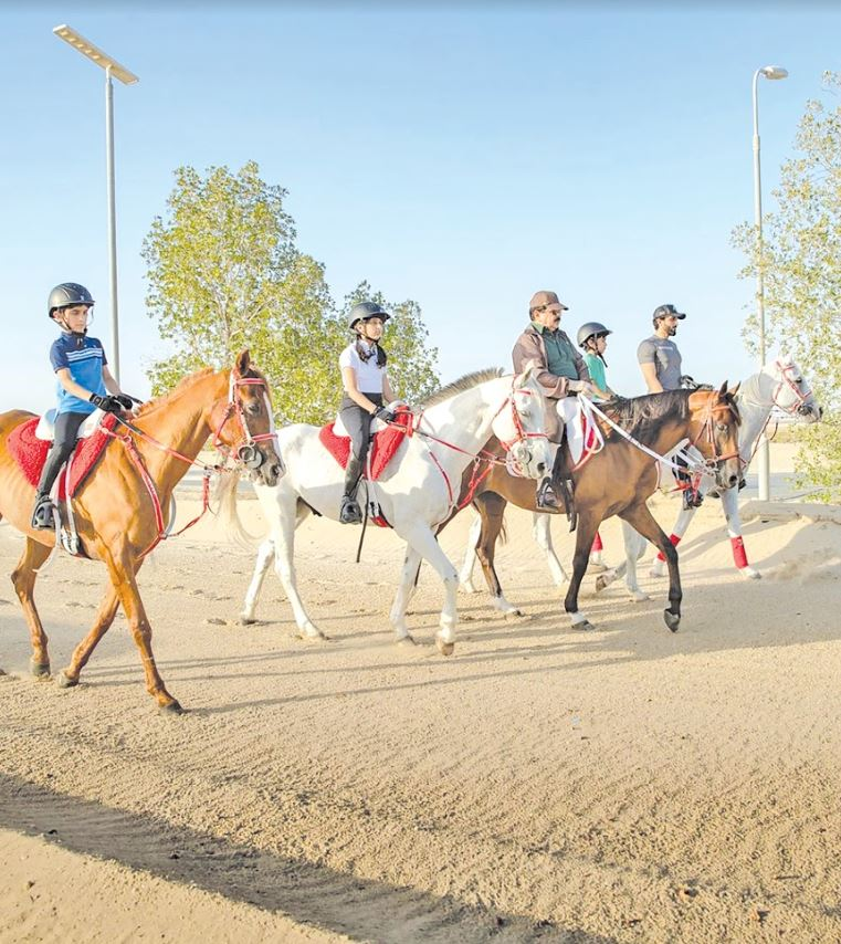 """<p>Photographs of His Majesty King Hamad's representative for humanitarian work and youth affairs, National Security Adviser and Supreme Council for Youth and Sport chairman Shaikh Nasser bin Hamad Al Khalifa and his children riding with His Majesty went viral on social media last night. Shaikh Nasser, while posting the pictures, said: """"Finally, my dream has come true.""""</p>"""