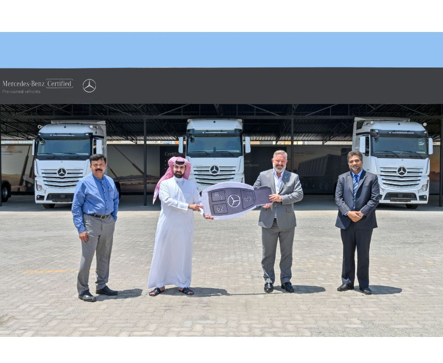 Ameenco keeps on truckin' with Mercedes-Benz
